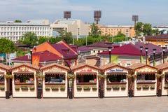 130 Kvartal fjärdedel, Irkutsk Arkivbilder