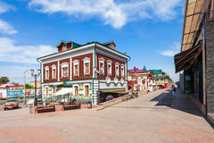 130 Kvartal fjärdedel, Irkutsk Royaltyfria Bilder