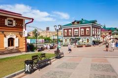 130 Kvartal-Viertel, Irkutsk Lizenzfreie Stockbilder