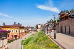 130 Kvartal-Viertel, Irkutsk Lizenzfreie Stockfotografie