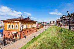 130 Kvartal-Viertel, Irkutsk Lizenzfreies Stockfoto