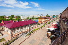 130 Kvartal-Viertel, Irkutsk Stockfotografie