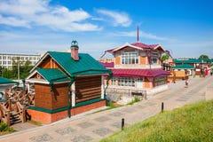 130 Kvartal-Viertel, Irkutsk Stockfotos