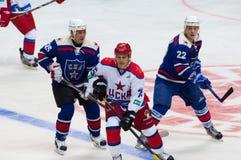 A Kvartalnov (75), K (22) Molodtsov i M Salimov (25) Obraz Royalty Free