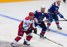 A. Kvartalnov (75), M. Salimov (25) and K. Molodtsov(22) Stock Images