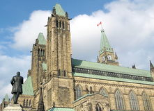 Kvarter 2008 för Ottawa parlamentmitt Royaltyfri Bild