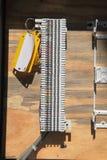 Kvarter för telefonledningsnätpunchdown royaltyfri bild