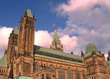 Kvarter Maj 2008 för Ottawa parlamentmitt Royaltyfri Bild