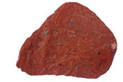 Kvartsporphyry (rhyolite) från Estland Arkivbilder