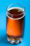Kvass on blue Royalty Free Stock Images