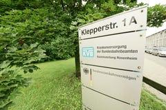 KVB and Bundeseisenbahnvermögen Royalty Free Stock Images