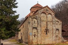 Kvelacminda old VIII century church, Gurdjaani, Kaheti. Georgia Royalty Free Stock Images