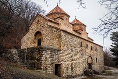 Kvelacminda old VIII century church, Gurdjaani, Kaheti. Georgia Stock Photo
