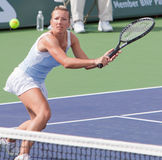 Kveta PESCHKE at the 2009 BNP Paribas Open Royalty Free Stock Images