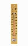 kvicksilvertermometer Arkivfoto