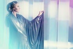 Kvinna av framtid Royaltyfria Bilder