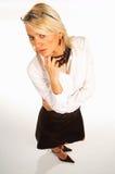 kvinna för 14 affär Royaltyfria Bilder