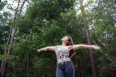 kvinna för 14 härlig det fria Royaltyfri Foto