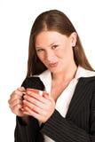 kvinna för 217 affärsgs Arkivfoto