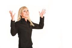 kvinna för 295 affär Royaltyfri Fotografi