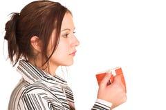kvinna för 347 affär Fotografering för Bildbyråer