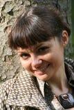 kvinna för 37 höst fotografering för bildbyråer