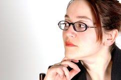 kvinna för 4 affär Arkivbilder