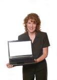kvinna för 5 annons Royaltyfria Foton