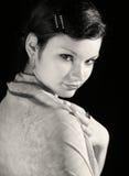 kvinna för 5 tappning royaltyfri fotografi