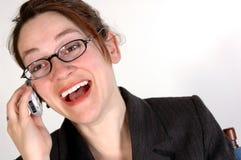 kvinna för 7 affär Royaltyfri Fotografi