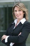 kvinna för affärscorproateheadshot Royaltyfria Foton