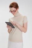 kvinna för affärskontor Royaltyfria Foton