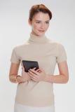 kvinna för affärskontor Arkivbild