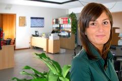kvinna för affärskontor Royaltyfri Fotografi
