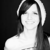 kvinna för b-ståendew fotografering för bildbyråer