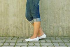 kvinna för ben s Royaltyfri Bild