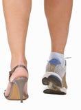 kvinna för ben s Arkivbild