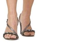 kvinna för ben s Arkivfoto