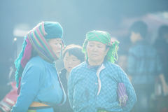 Kvinna för etnisk minoritet i solsken Royaltyfria Bilder