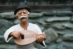 kvinna för figurine för cigarrlera kubansk Royaltyfria Foton