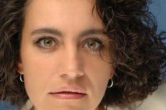 kvinna för framsida s Arkivfoton