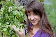 kvinna för naturpark Fotografering för Bildbyråer