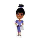 kvinna för påsehandväskashopping Arkivfoton