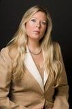 kvinna för pensionär för affärsledare royaltyfria bilder