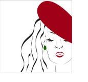kvinna för rengöringsduk för mall för sida för hälsning för bakgrundskortframsida universal Royaltyfri Bild