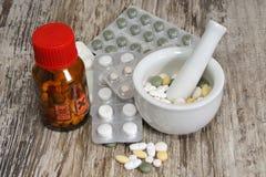 kvinna för självmord för drogöverdospills Royaltyfri Foto