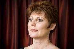 kvinna för stående s Royaltyfria Bilder