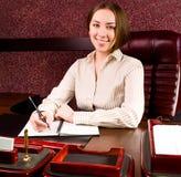 kvinna för affärskontor Royaltyfria Bilder