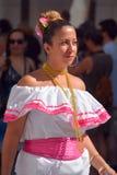 Kvinna från Nicaragua Royaltyfria Bilder