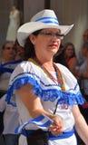 Kvinna från Nicaragua Arkivbild